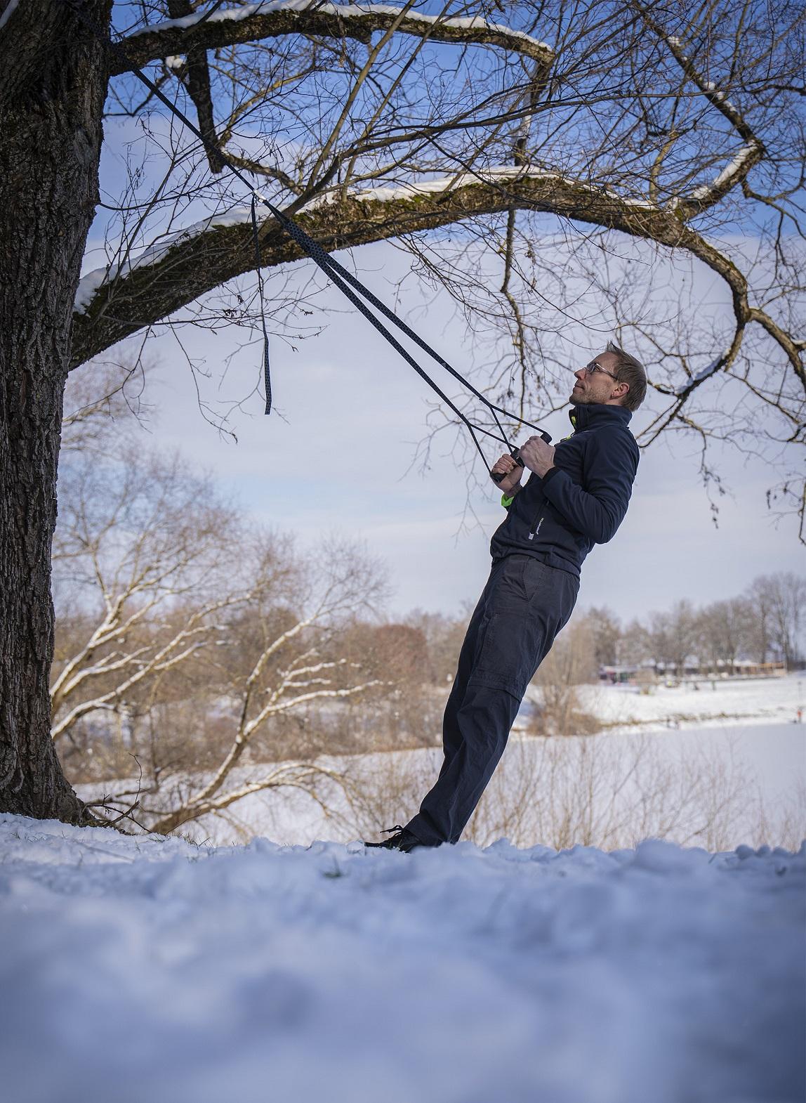 Sling-Training im Freien